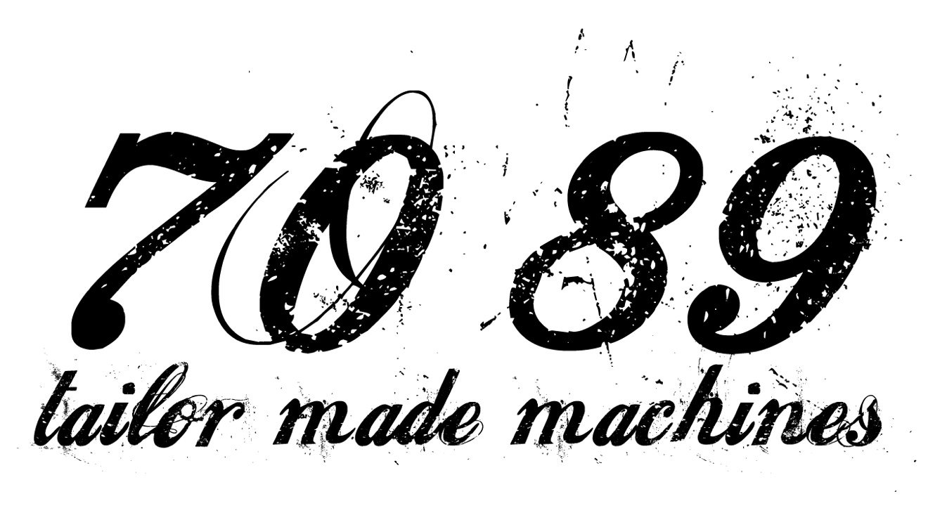 Logotipo de 7089 tailor made machines - Patrocinador